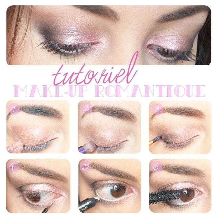 Romantic makeup tutorial  Pink / Rose / Romantique  http://lejoliblog.com/2014/11/13/make-up-romantique-novembre/