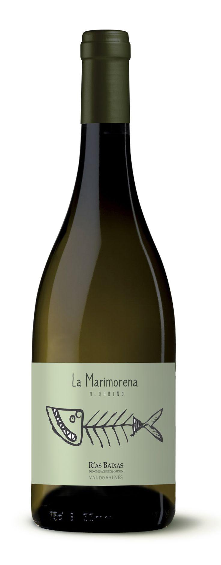 Label / wine / La Marimorena (DO Rias Baixas) #Vino #Wine #Albariño