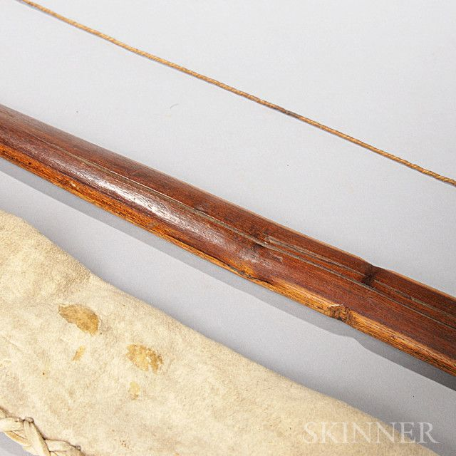 Kiowa Bow and Hide Bow Case | Sale Number 2791B, Lot Number 171 | Skinner Auctioneers