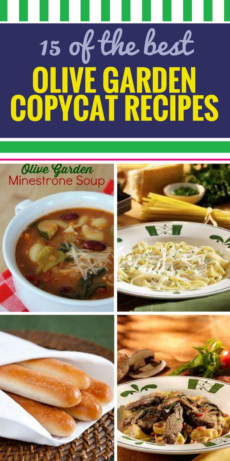 7874 best my life recipes images on pinterest clean - Olive garden soup and salad dinner ...