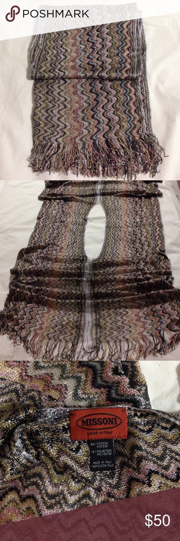 Original Missoni Scarf from Italy Brand NEW, comes without tags Missoni Other