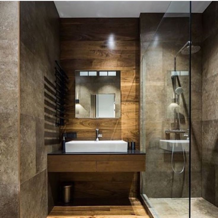 I like the sink and shower side by side