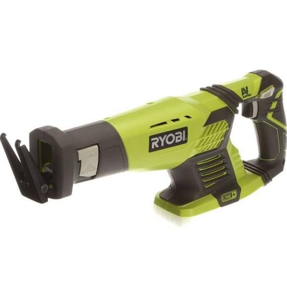 Cordless Reciprocating Saw: Ryobi Saws - Reciprocating One+ 18-Volt (Tool-Only) P514