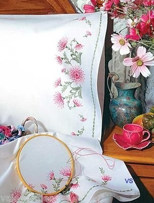 Tobin Stamped #embroidery Gloriosa ♥ #flowers #spring #mothersday #gift #home…