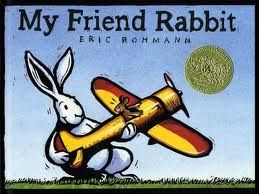When Mouse lets his best friend, Rabbit, play with his brand-new airplane, trouble isn't far behind. From Caldecott Honor award winner Eric Rohmann comes a brand-new picture book about friends and toys and trouble, illustrated in robust, expressive prints.