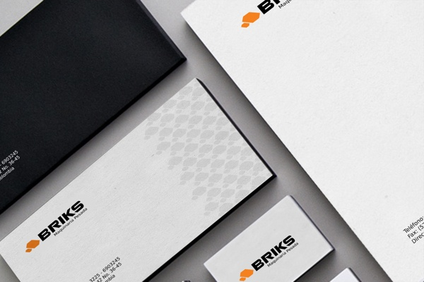 Briks by CodeGraphicDesign , via Behance
