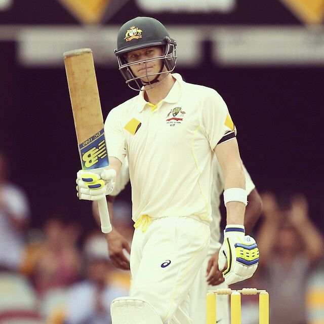 ANOTHER fifty for Steve Smith! Australia 4-221 at stumps on day two #AUSvIND