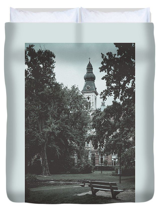 Travel Duvet Cover featuring the photograph Pictures Of Ghent. Part 2 by Elena Ivanova IvEA   #ElenaIvanovaIvEAFineArtDesign #ForHome #DuvetCovers #Gift