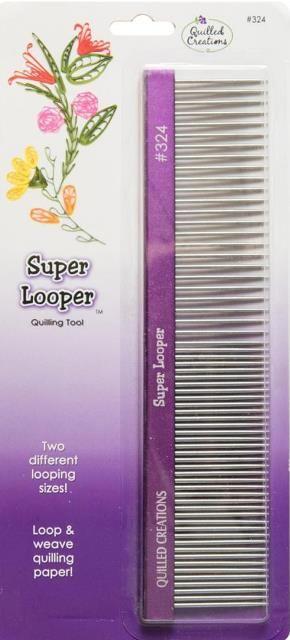 Super Looper Quilling Comb www.customquilling.com