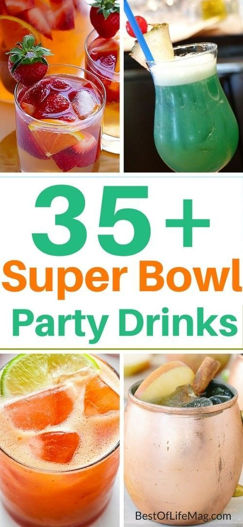 35 Super Bowl Party Drinks and Cocktails - The Best of Life Magazine