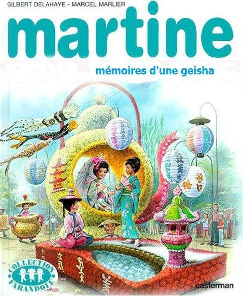 Martine, mémoires d'une geisha