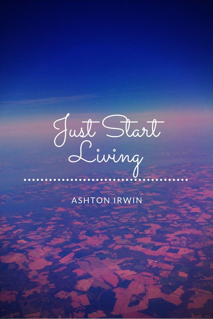ashton irwin quote made by: Mia Tittmann with Canva