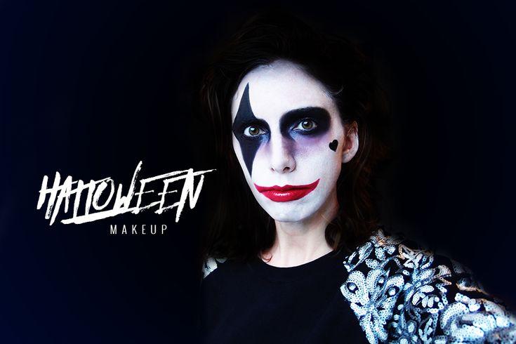 tuto maquillage facile joker halloween