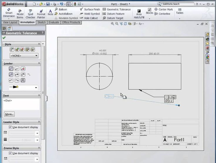 18 best gdt images on pinterest gd engineering and technology opti dimensioning and tolerancing in solidworks malvernweather Images