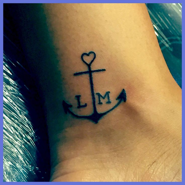 anchor tattoo for my kids my children keep me grounded they represent stability and they give. Black Bedroom Furniture Sets. Home Design Ideas