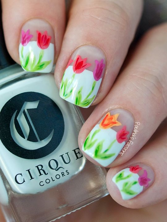 100 most popular spring nail colors of