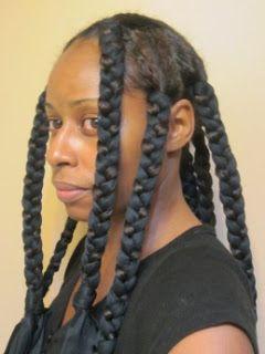 Satin Scarf Braid Out- Natural Hair Style Tutorial | Curly Nikki | Natural Hair …