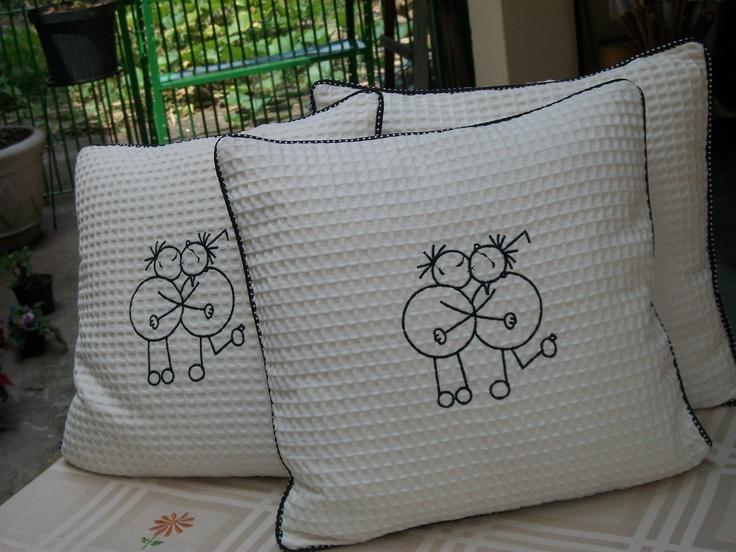 Confeccionda em tecido,100% algodão,bordado exclusivo.
