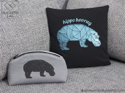 Sewing Tini: hip hip hooray - Mr. Poly Hippo in 3 Varianten