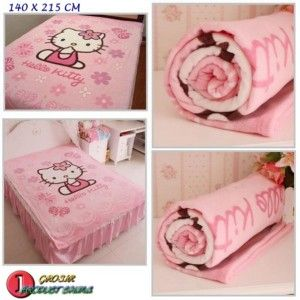 SELIMUT HELLO KITTY ORGANIK http://grosirproductchina.co.id/selimut-hello-kitty-organik.html