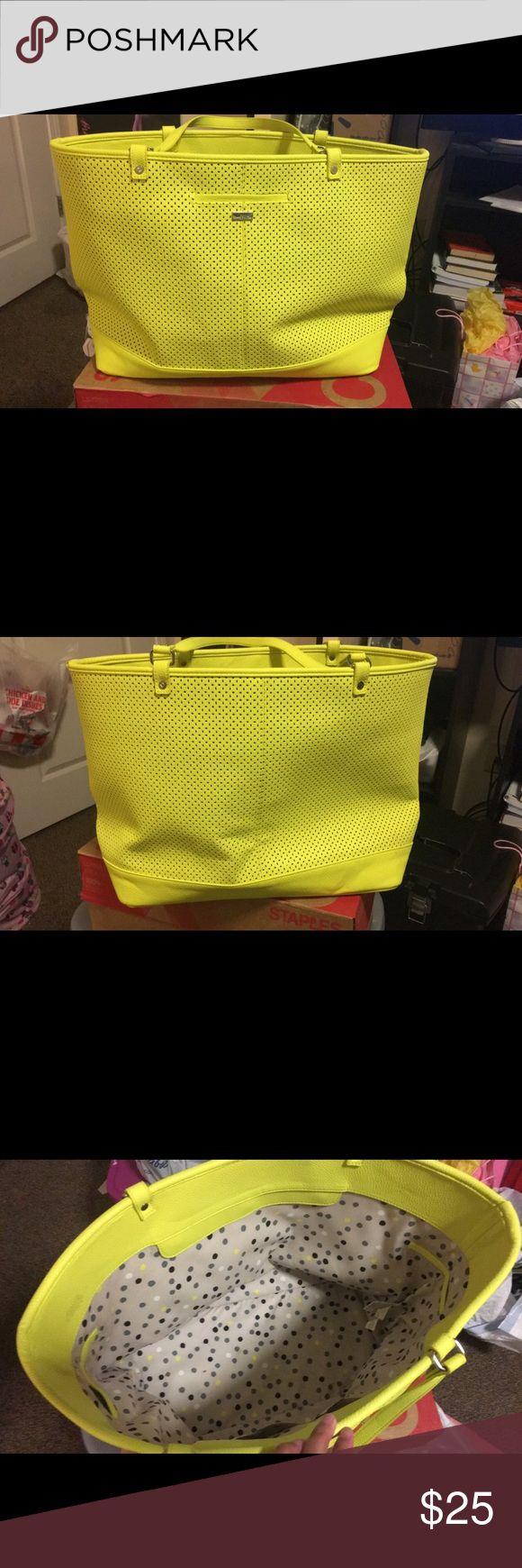 Large yellow tote bag Large yellow tote bag Bags Totes