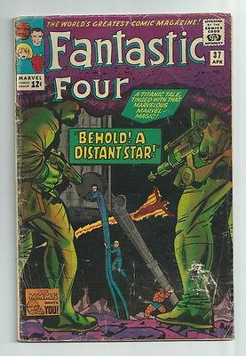 FANTASTIC FOUR #37 FF battles Warlord Morat & some Skrulls! ~COOL~ http://r.ebay.com/tOIyGK