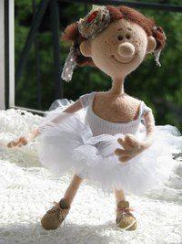 Кукла коллекционная.Девочка балерина,мечтает танцевать в Большом театре.