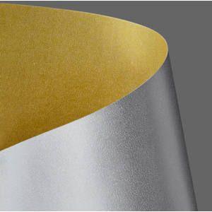 Papírgaléria kétoldalas dekor karton 250g A/1, arany-ezüst fényes