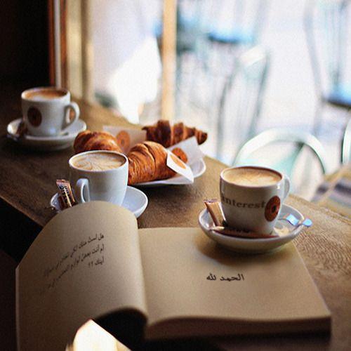 #coffee #book #mornings