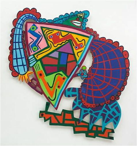 Elizabeth Murray and Frank Stella- Nice lesson plans and student examples!