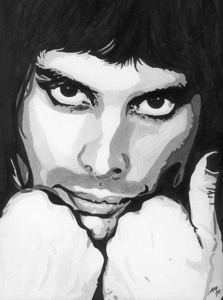 Freddie - Freddie Mercury Fan Art (32927839) - Fanpop