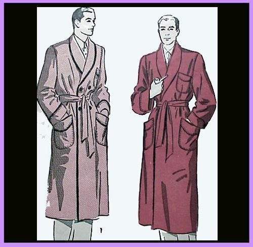 how to make a dressing gown pattern