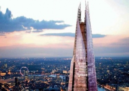 El #rascacielos más alto de #Europa acaricia el cielo londinense