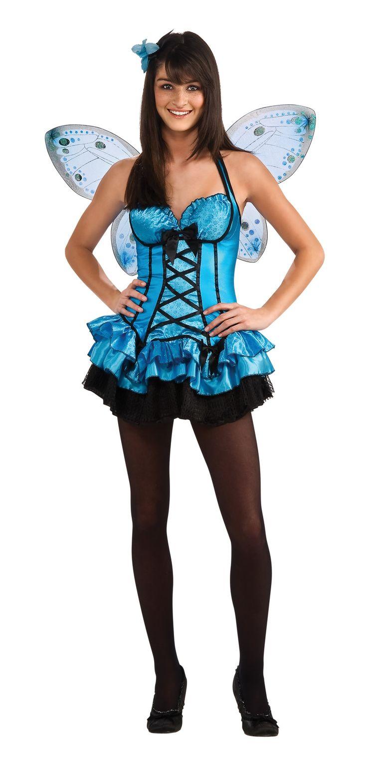 Hada azul disfraces para mujer pinterest azul - Fiesta de disfraces ideas ...