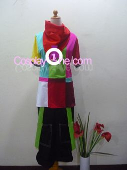 Glitch Cosplay Costume from Dance Central front by Cosplay1