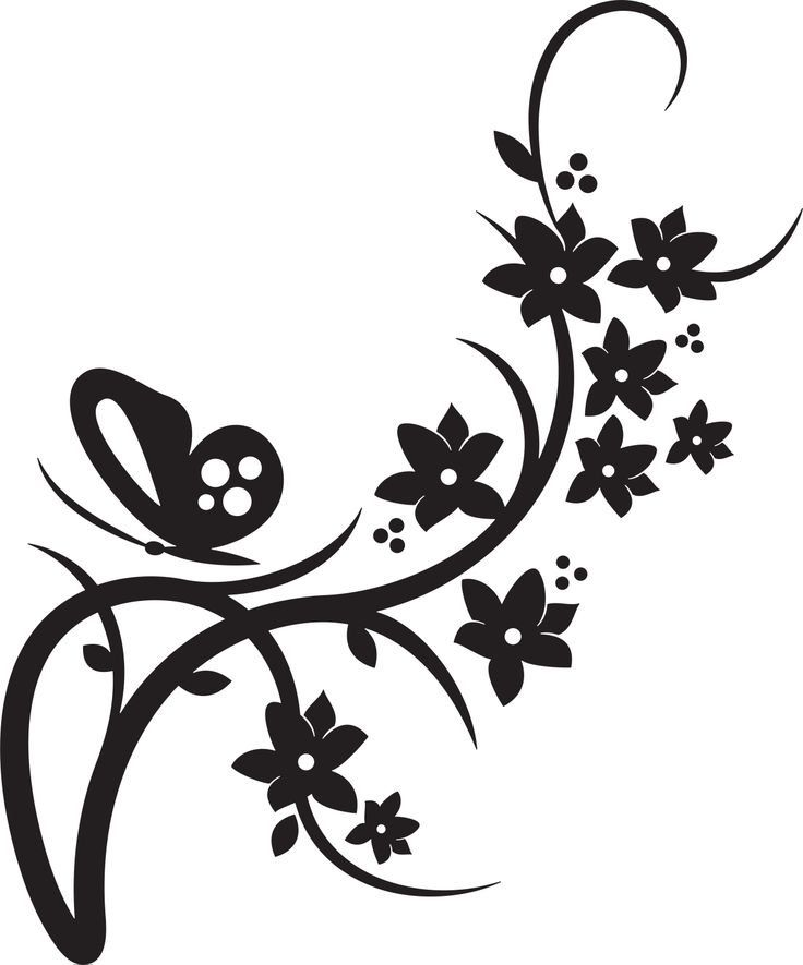 Butterfly Vinyl Decal by TheOneCherryBlossom on Etsy, $4.50