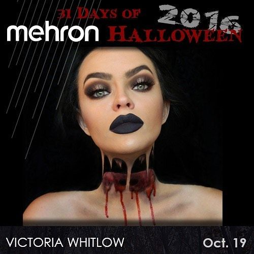 199 best 31 Days of Mehron Halloween images on Pinterest   31 days ...