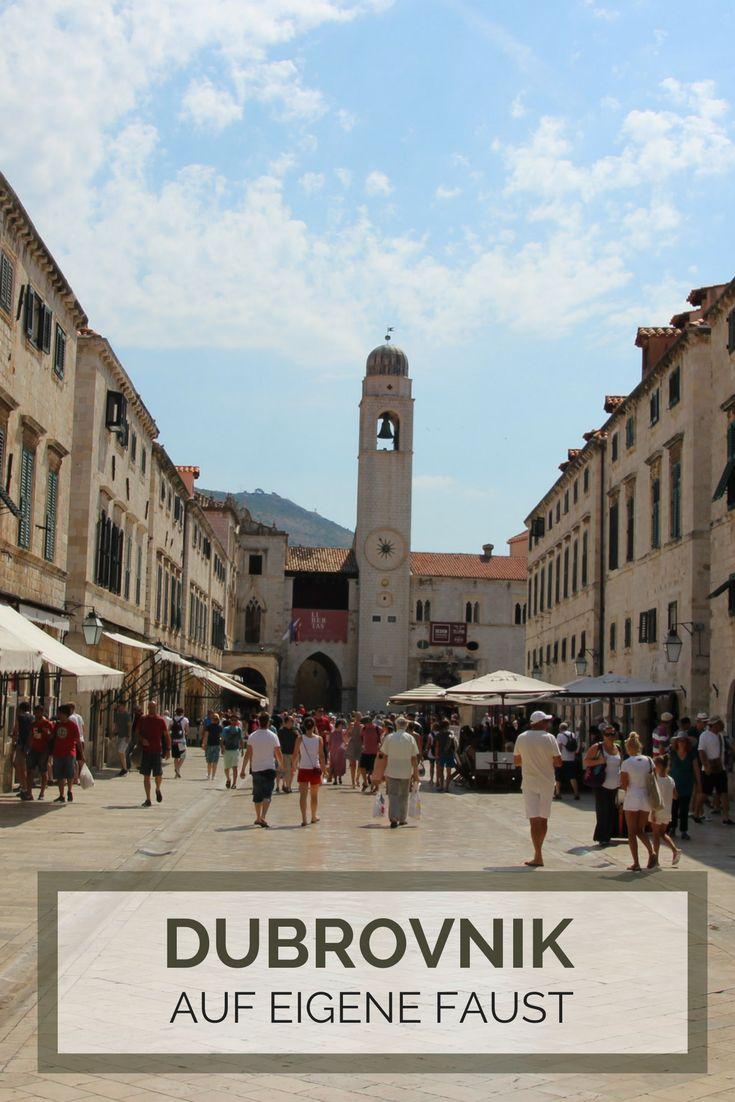 Dubrovnik Tipps - auf eigene Faust entdecken