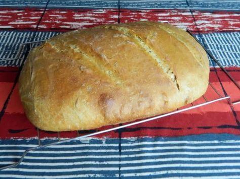 pečenie a varenie: Sedliacky chlieb s kváskom