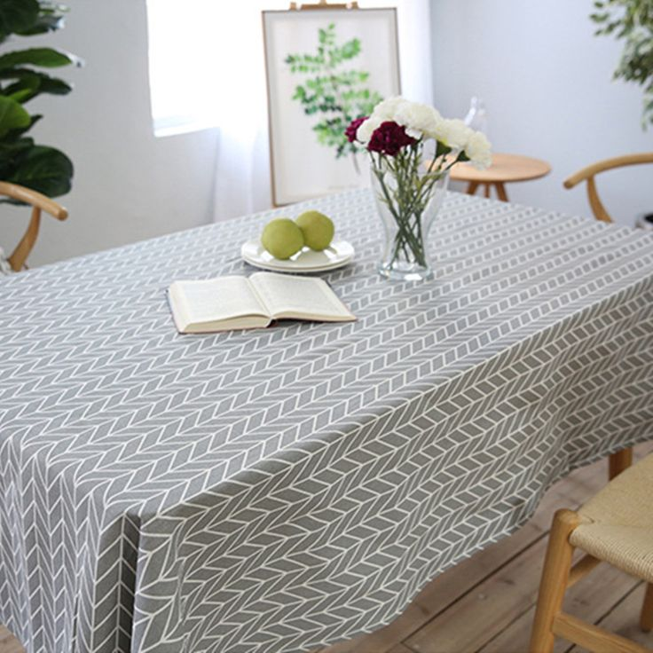 Free Shipping Gray Arrows Tablecloth Home Hotel Diner Table Cover Mantel De Mesa Multifunction Printed flax. Click visit to buy #Tablecloth