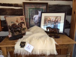 Home Decor items from Exclusively Equine.  Perfect home accents for a horse enthusiast