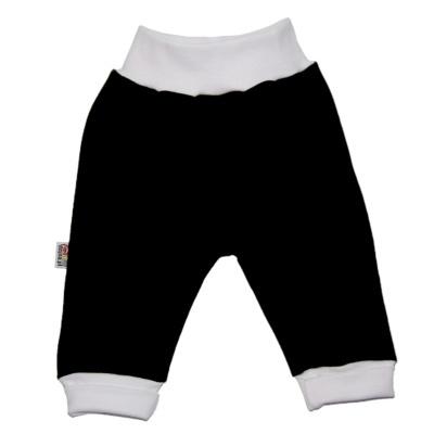 Pantalon noir en 100% coton pour bébé http://simedio.fr