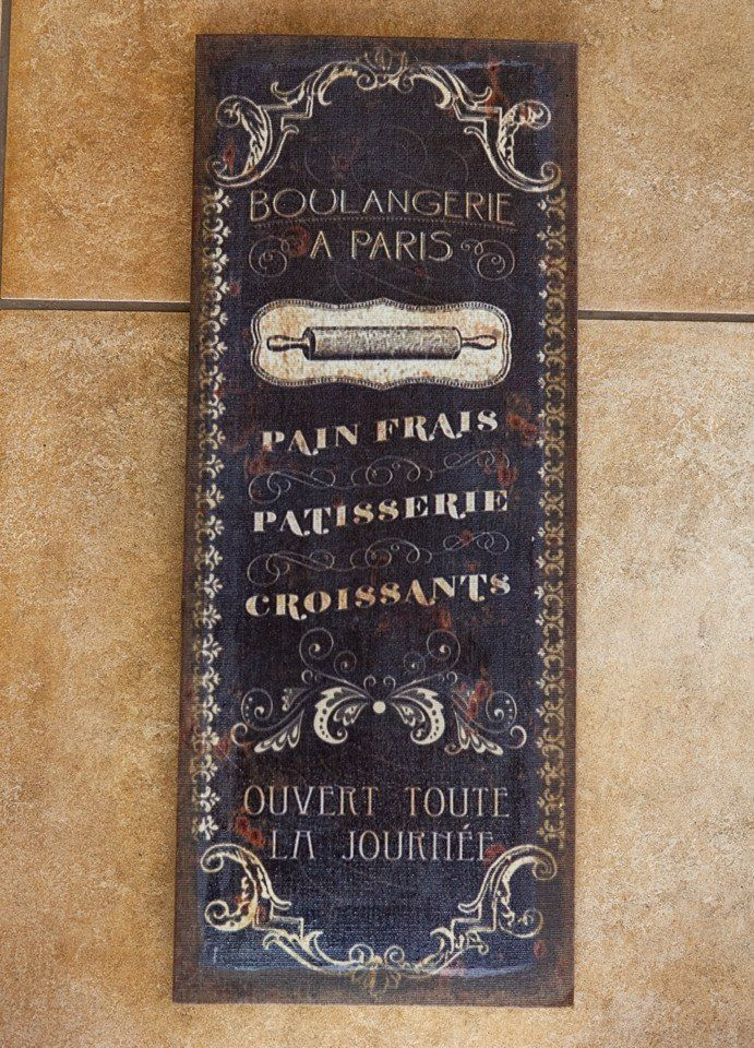 Boulangerie a Paris Flax Print