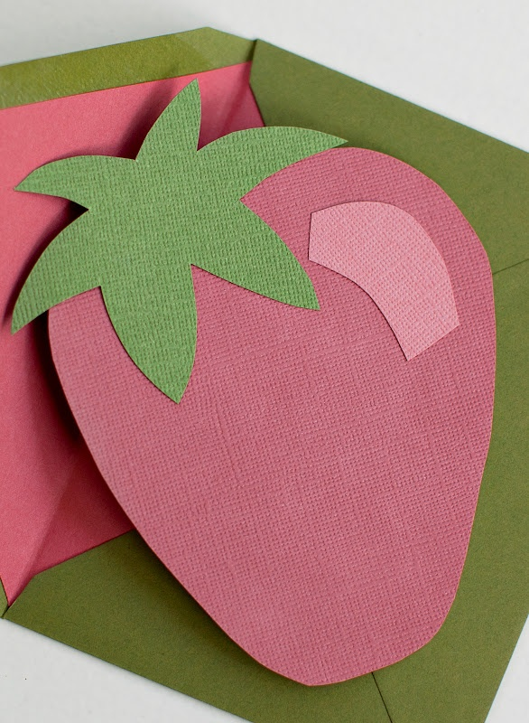 """""""Berry"""" Special Little Girl Birthday Party Invite Idea. Strawberry!"""