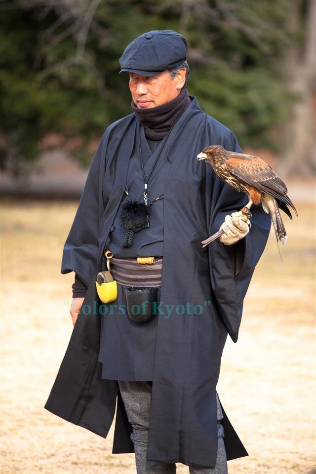 Japanese falconry, Takasho 鷹匠