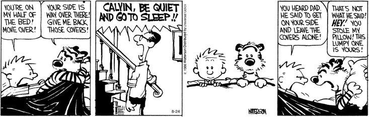 Calvin and Hobbes Comic Strip, August 24, 2016 on GoComics.com