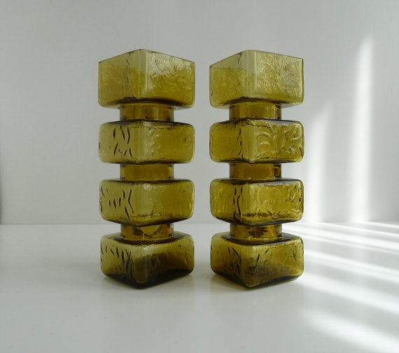 'Pala' Vases by Helena Tynell for Riihimäen Lasi Oy / Riihimaki