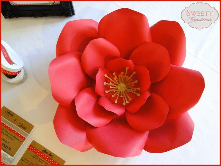 Fleur Geante En Papier Mache Idee D Image De Fleur