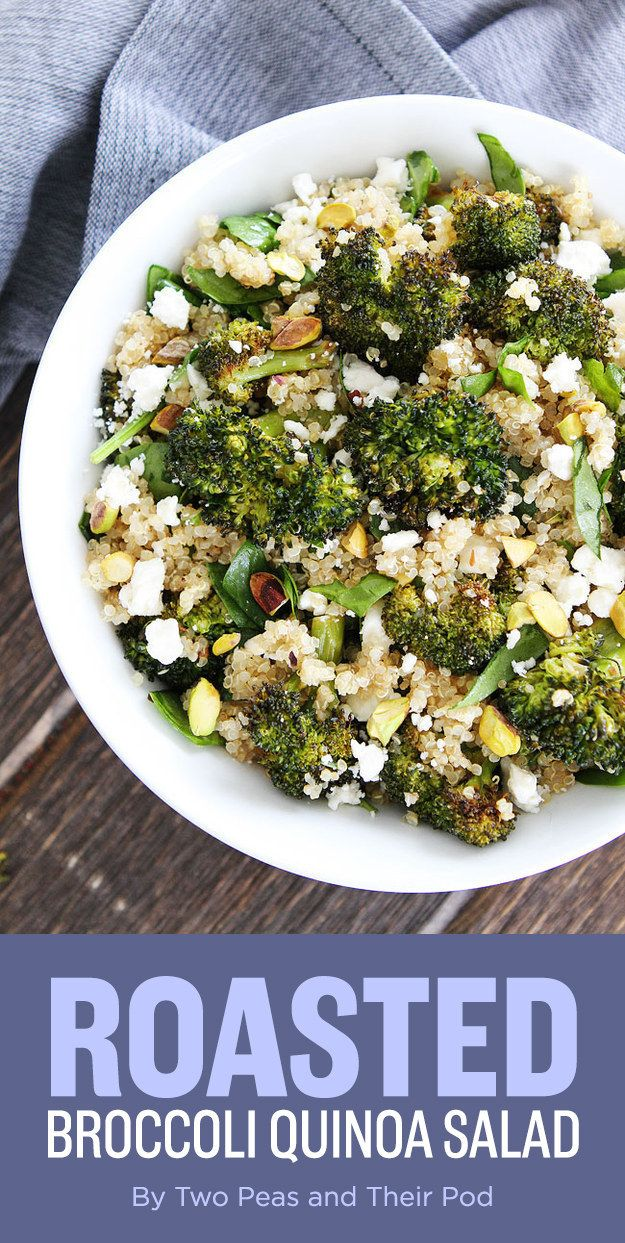 Roasted Broccoli Quinoa Salad | Here's What You Should Eat For Dinner This Week
