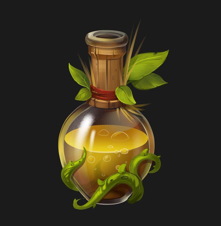 ArtStation - bottle, Evgenia Loginova